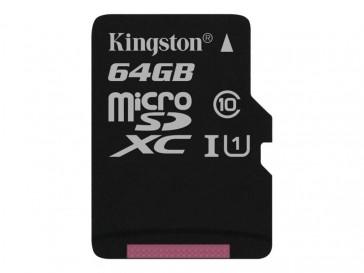 TARJETA KINGSTON MICRO SD 64GB 80R UHS-I CL10 +ADAP