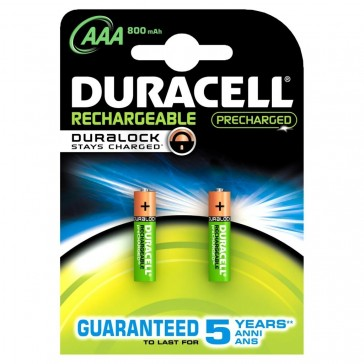 PAQUETE 2 PILAS DURACELL AAA(LR03)B2 STAY CHARGE(81418240)