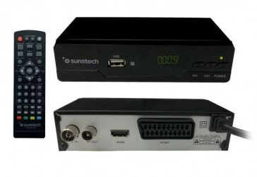 SINTONIZADOR DIGITAL SUNSTECH  DTB210HD2  (ALTA DEFINICION)