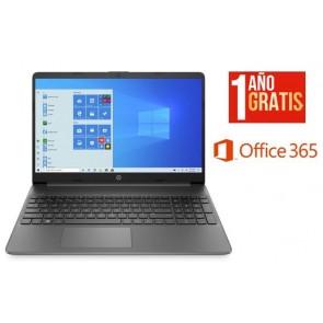 """PORTATIL HP 15.6"""" I3-1115 4GB/128GB W10 GREY +OFFICE 365 (Electrodomesticos)"""