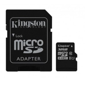 TARJETA KINGSTON MICRO SD 32GB 100R SDCS2 +ADAP