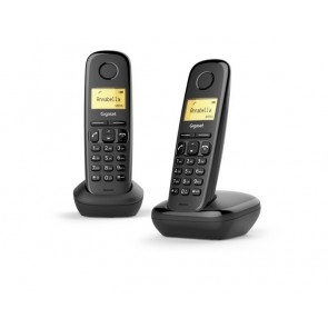 TELEFONO DECT GIGASET A170 DUO NEGRO