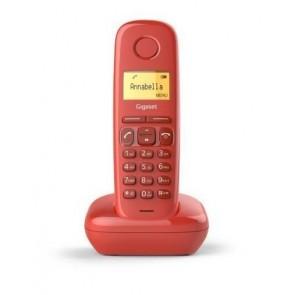 TELEFONO GISGASET 170 ROJO DECT