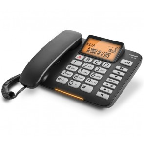 TELEFONO GIGASET DL580 BLACK PANATALLA DECT