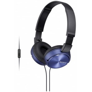 AURICULARES SONY MDRZX310APL AZUL MICRO