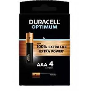 PILA DURACELL AAA LR03 OPTIMUM K4 (BLISTER 4)