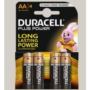 PILA DURACELL AA LR06 PLUS POWER 4UDS K4