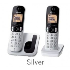 TELEFONO PANASONIC KXTG212SPS GRIS NEGRO