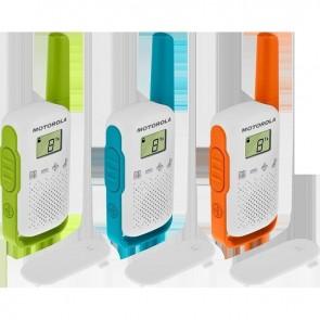 WALKIE TALKIE MOTOROLA TLKR T42 TRIPLE PACK (Electrodomesticos)