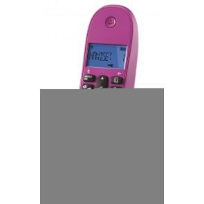 TELEFONO MOTOROLA DECT C1001LB VIOLETA