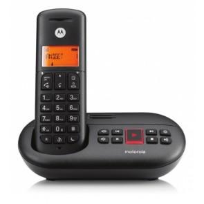 TELEFONO MOTOROLA DECT E211 NEGRO MANOS LIBRES