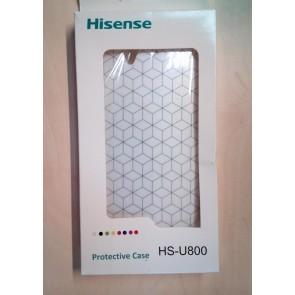 FUNDA HISENSE U800 BLANCA
