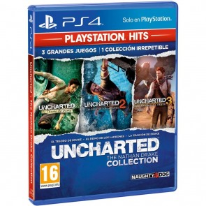 "JUEGO SONY PS4 ""UNCHARTED COLLECTION"""