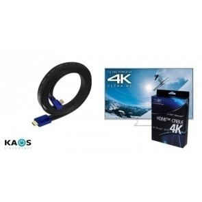 CABLE HDMI 4K M/M KAOS ULTRA HIGH DEFINITION