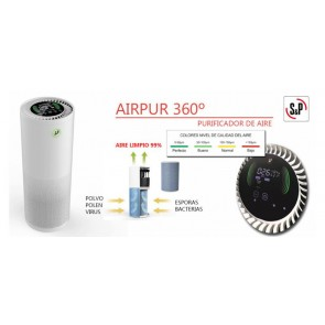 PURIFICADOR AIRE S&P AIRPUR 360
