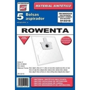 BOLSA ASP. TECNHOGAR ROWENTA 915519 SINTETICA