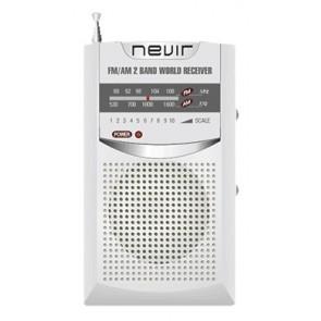 RADIO NEVIR NVR-136S PLATA