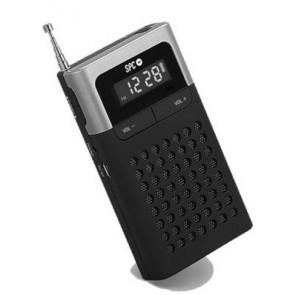 RADIO RELOJ SPC 4583N ICY PRO DESPERTADOR NEGRO