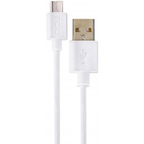CABLE DCU USB A-MICRO USB BLANCO 1M (30401225)