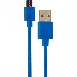 CABLE DCU USB A-MICRO USB AZUL MARINE 2M (30401240)