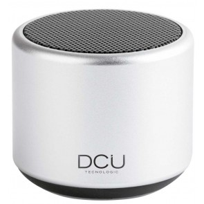 MINI ALTAVOZ DCU BLUETOOTH 3W PLATA
