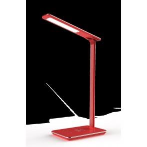 LAMPARA DE ESCRITORIO FLUXS LED QI 00142 INDUS ROJ