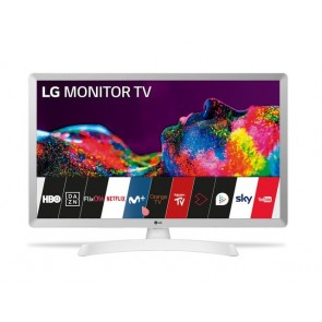 MONITOR TV LED LG 24 24TN510S-WZ HD SMART TV BLANC