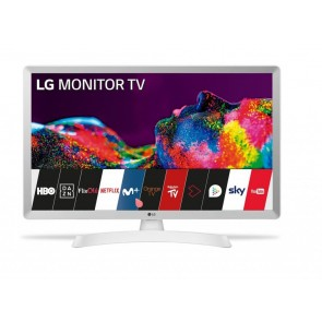 MONITOR TV LED LG 28 28TN515S-WZ HD SMART TV BLANC